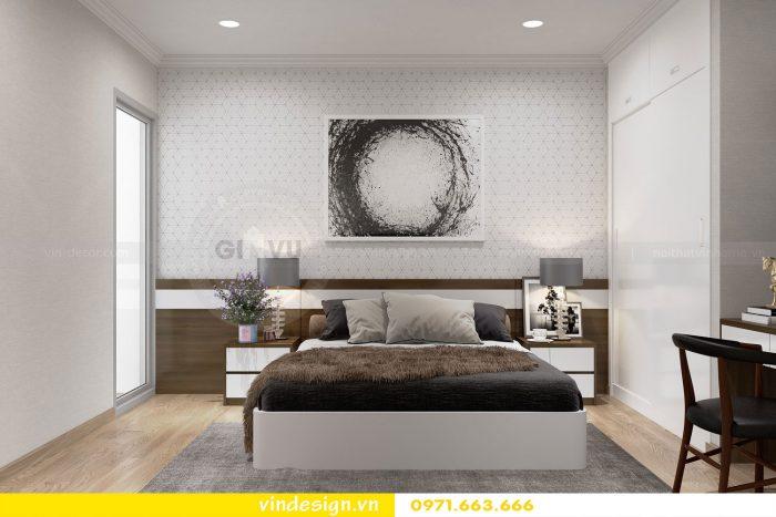 Thiết kế nội thất căn 12B tòa A2 chung cư Gardenia 13