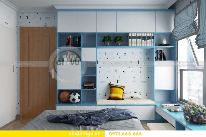 Thiết kế nội thất căn 12B tòa A2 chung cư Gardenia 15