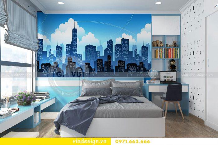 Thiết kế nội thất căn 12B tòa A2 chung cư Gardenia 16