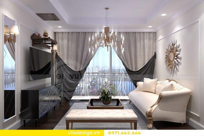 Thiết kế nội thất căn 16 tòa A2 chung cư gardenia 01