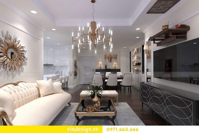 Thiết kế nội thất căn 16 tòa A2 chung cư gardenia 02