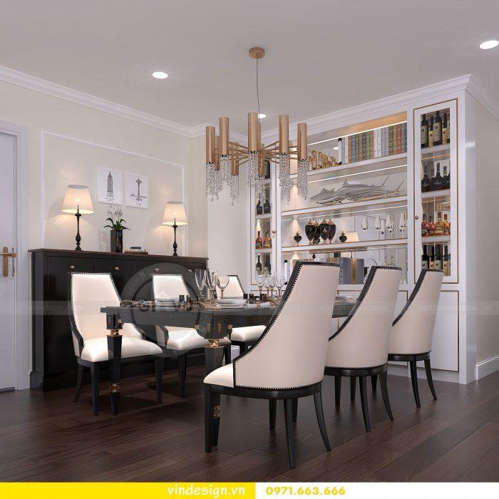 Thiết kế nội thất căn 16 tòa A2 chung cư gardenia 03