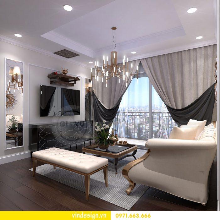 Thiết kế nội thất căn 16 tòa A2 chung cư gardenia 04