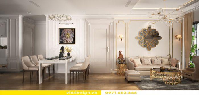 thiết kế nội thất căn 07 tòa A2 chung cư gardenia 01