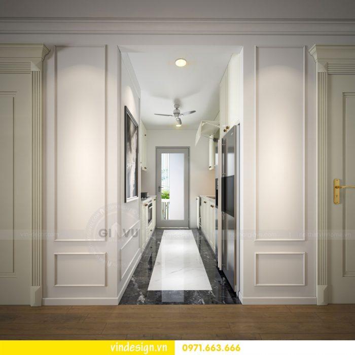 thiết kế nội thất căn 07 tòa A2 chung cư gardenia 06