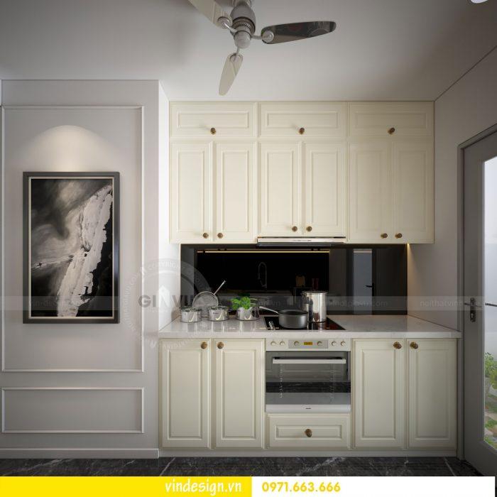 thiết kế nội thất căn 07 tòa A2 chung cư gardenia 07