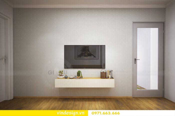 thiết kế nội thất căn 07 tòa A2 chung cư gardenia 11