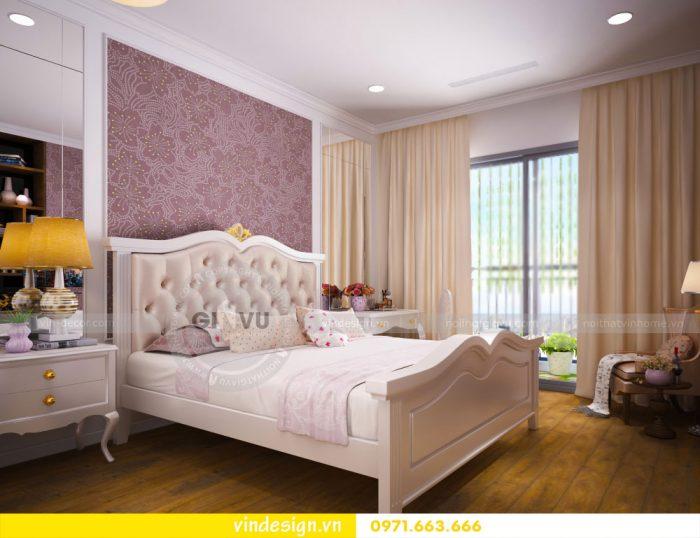 thiết kế nội thất căn 07 tòa A2 chung cư gardenia 13