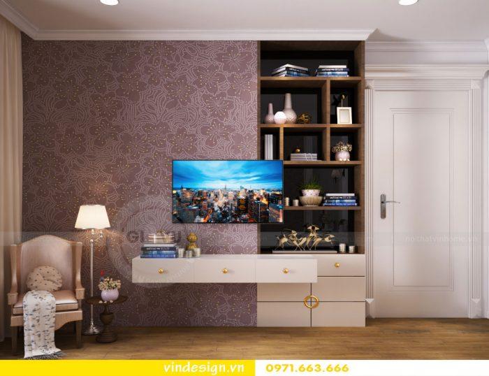 thiết kế nội thất căn 07 tòa A2 chung cư gardenia 14