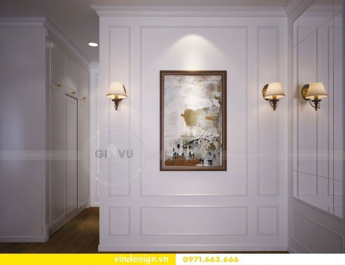 thiết kế nội thất căn 07 tòa A2 chung cư gardenia 15