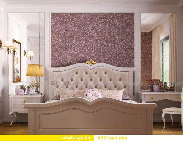 thiết kế nội thất căn 07 tòa A2 chung cư gardenia 16