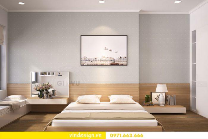 thiết kế nội thất căn 07 tòa A2 chung cư gardenia 09