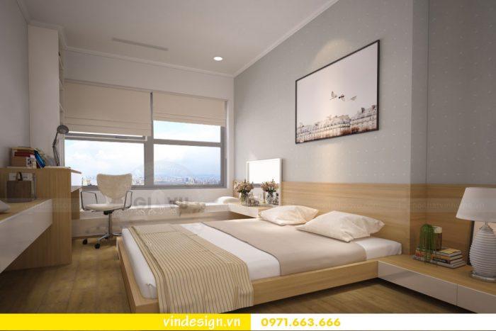 thiết kế nội thất căn 07 tòa A2 chung cư gardenia 10