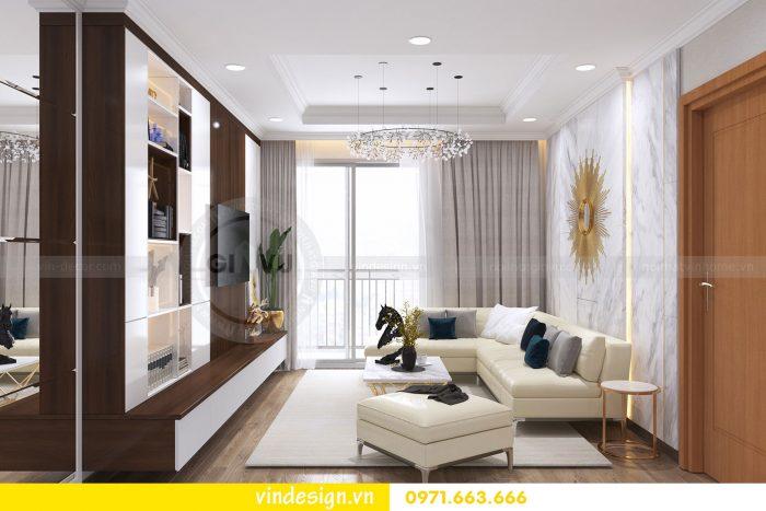 Thiết kế nội thất căn 03 tòa A1 chung cư gardenia 3 ngủ đẹp 01