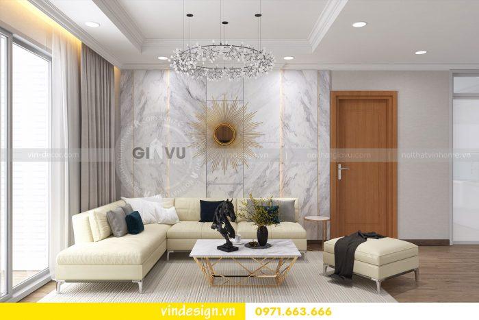 Thiết kế nội thất căn 03 tòa A1 chung cư gardenia 3 ngủ đẹp 02