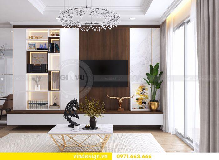 Thiết kế nội thất căn 03 tòa A1 chung cư gardenia 3 ngủ đẹp 03