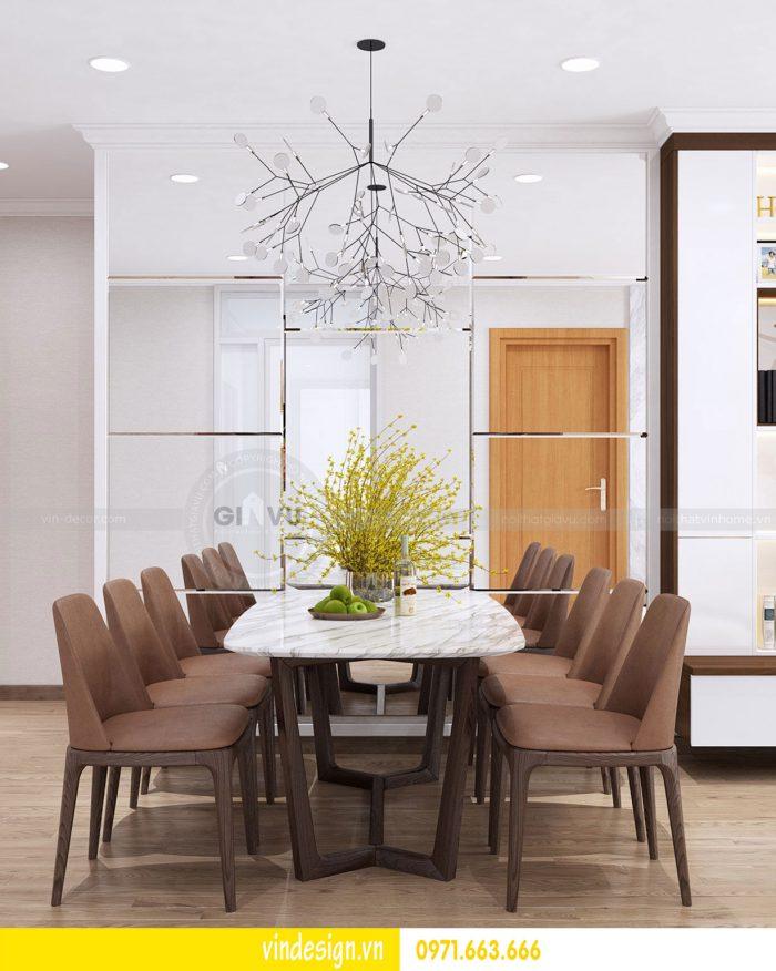 Thiết kế nội thất căn 03 tòa A1 chung cư gardenia 3 ngủ đẹp 04