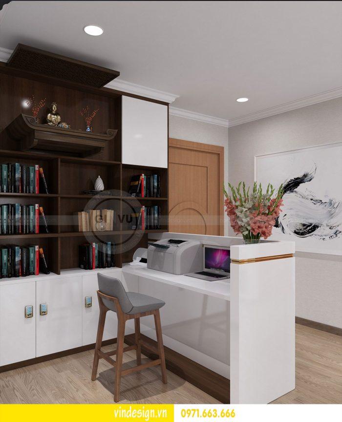 Thiết kế nội thất căn 03 tòa A1 chung cư gardenia 3 ngủ đẹp 06
