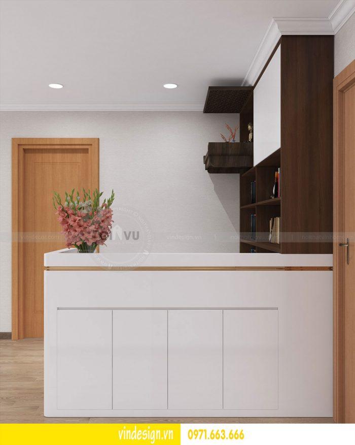 Thiết kế nội thất căn 03 tòa A1 chung cư gardenia 3 ngủ đẹp 08
