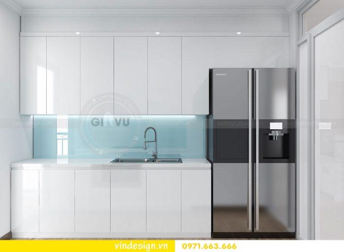 Thiết kế nội thất căn 03 tòa A1 chung cư gardenia 3 ngủ đẹp 09