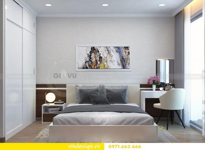 Thiết kế nội thất căn 03 tòa A1 chung cư gardenia 3 ngủ đẹp 11