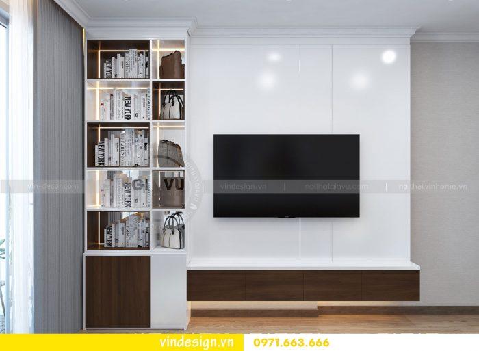 Thiết kế nội thất căn 03 tòa A1 chung cư gardenia 3 ngủ đẹp 12