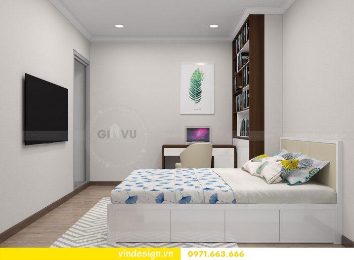 Thiết kế nội thất căn 03 tòa A1 chung cư gardenia 3 ngủ đẹp 14