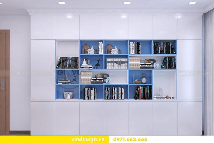 Thiết kế nội thất căn 03 tòa A1 chung cư gardenia 3 ngủ đẹp 17