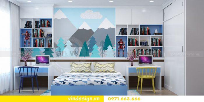 Thiết kế nội thất căn 03 tòa A1 chung cư gardenia 3 ngủ đẹp 18