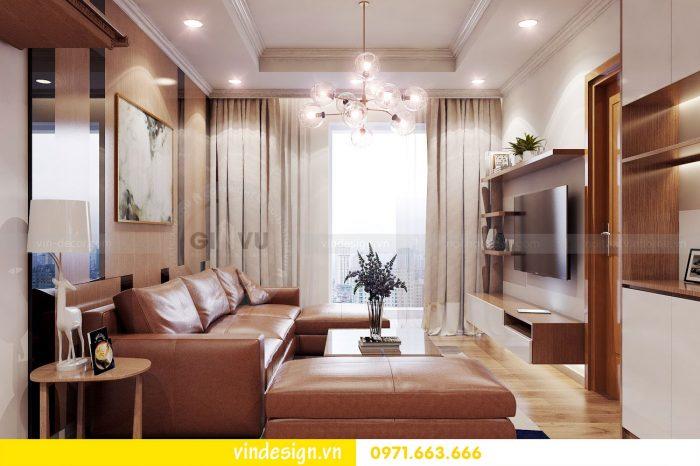 Thiết kế nội thất căn 05 tòa A1 chung cư Gardenia theo phong thủy 02