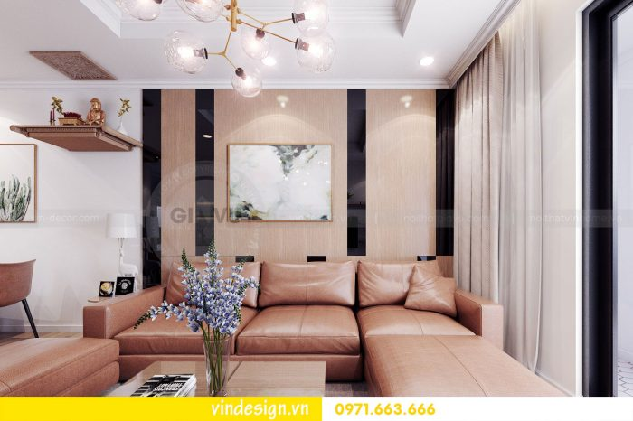 Thiết kế nội thất căn 05 tòa A1 chung cư Gardenia theo phong thủy 03