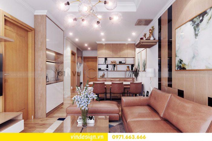 Thiết kế nội thất căn 05 tòa A1 chung cư Gardenia theo phong thủy 06