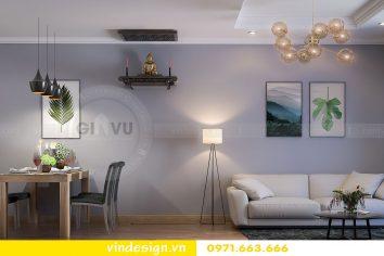 Thiết kế nội thất căn 07 tòa A1 chung cư Gardenia 02