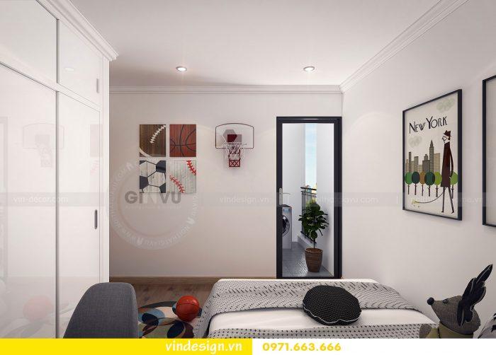 Thiết kế nội thất căn 07 tòa A1 chung cư Gardenia 09