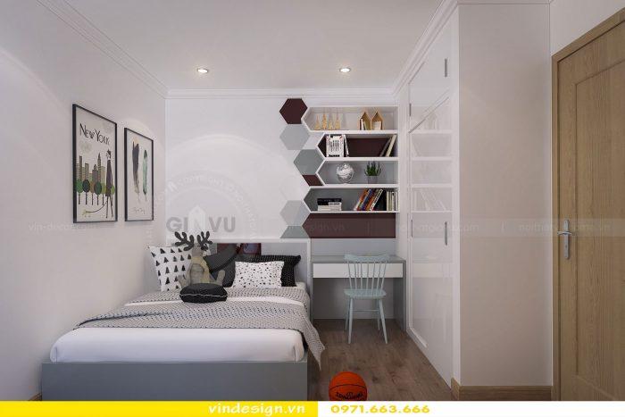 Thiết kế nội thất căn 07 tòa A1 chung cư Gardenia 08