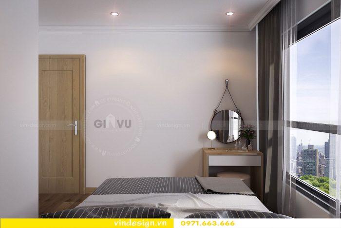 Thiết kế nội thất căn 07 tòa A1 chung cư Gardenia 07