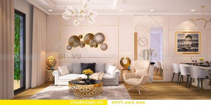 Thiết kế nội thất chung cư gardenia tòa A1 căn 04 số 02