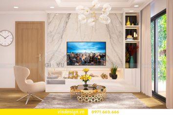 Thiết kế nội thất chung cư gardenia tòa A1 căn 04 số 05