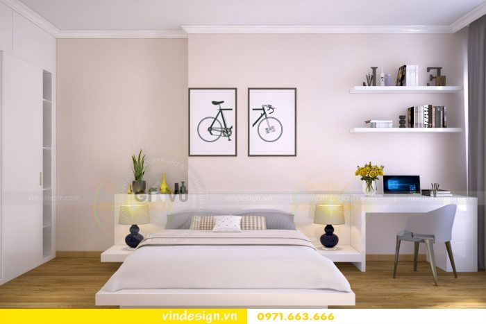 Thiết kế nội thất chung cư gardenia tòa A1 căn 04 số 10