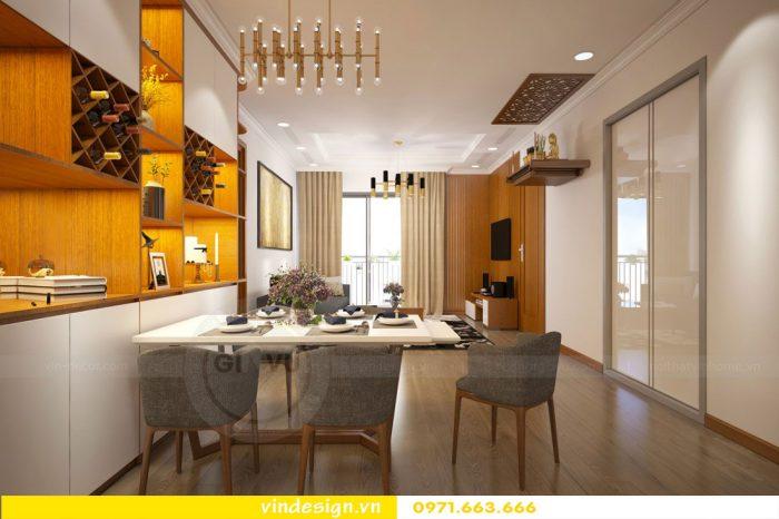 Thiết kế nội thất chung cư Gardenia tòa 01 căn 09 số 01