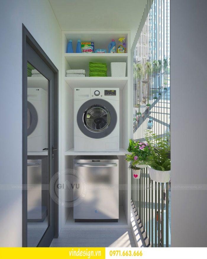 Thiết kế nội thất chung cư Gardenia tòa 01 căn 09 số 06