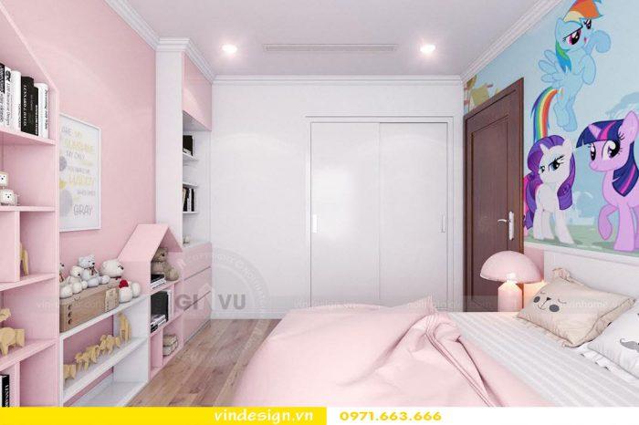 Thiết kế nội thất chung cư Gardenia tòa 01 căn 09 số 12