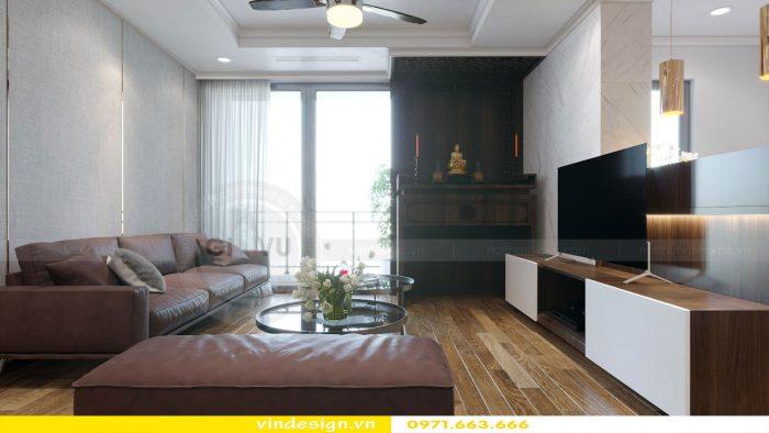 Thiết kế nội thất chung cư gardenia tòa A1 căn 11 số 06