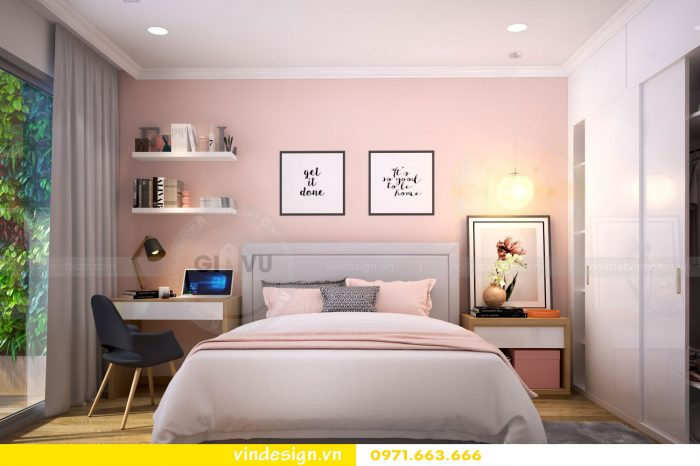 Thiết kế nội thất chung cư gardenia tòa A1 căn 12A số 11