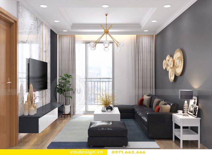 Thiết kế nội thất chung cư gardenia tòa A1 căn 16 số 02
