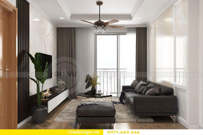 Thiết kế nội thất chung cư gardenia tòa A1 căn 17 số 1
