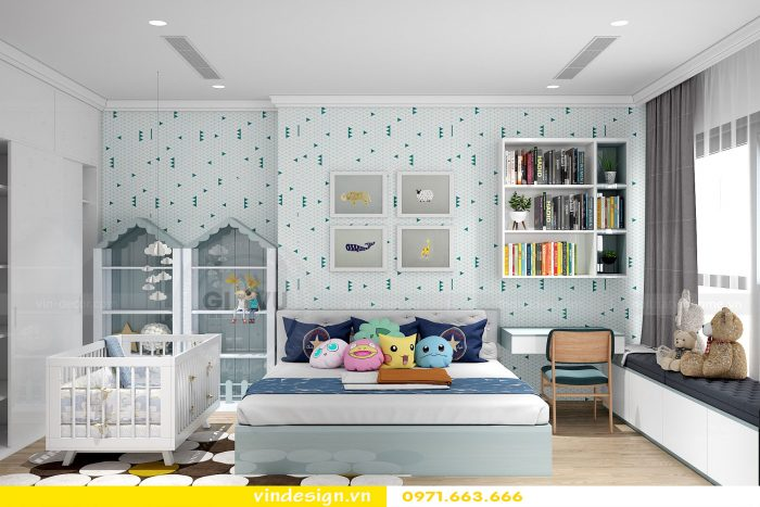 Thiết kế nội thất chung cư gardenia tòa A1 căn 17 số 8