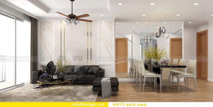 Thiết kế nội thất chung cư gardenia tòa A1 căn 17 số 3
