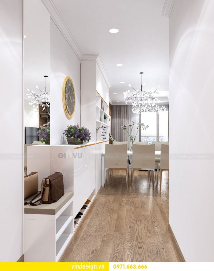 Thiết kế nội thất chung cư gardenia tòa A3 căn 01 đẹp 01