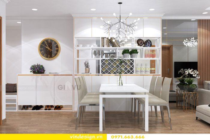Thiết kế nội thất chung cư gardenia tòa A3 căn 01 đẹp 02